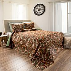 Lavish Home 2pc Selena Reversible  Quilt Set - Twin