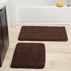 Brown Bathroom Rugs Mats Hsn