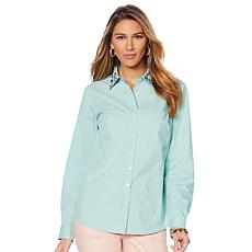 Lemon Way 365 Poplin Embellished Shirt