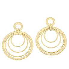 Lemon Way Multi-Circle Drop Earrings