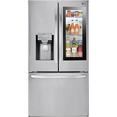 LG 28 Cu.Ft. InstaView Stainless Steel French Door Refrigerator