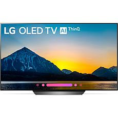 "LG 65"" B8 OLED 4K Ultra HD Smart TV w/Google Assistant and AI ThinQ"