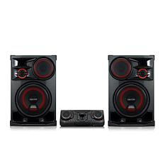 LG XBOOM Entertainment System with Karaoke & DJ Effects