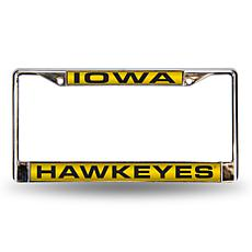 License Plate Frame - University of Iowa
