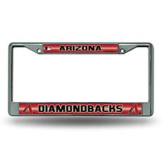License Plate Frame with Bling - Arizona Diamondbacks