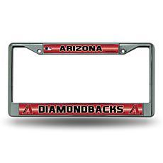 License Plate Frame with Bling - Arizona Diamondbacks