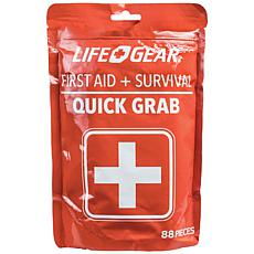 Life+Gear 88-piece Quick Grab First Aid and Survival Kit