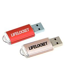 Lifelocket 2-pack 32GB USB Storage Backup Device