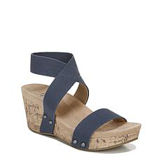 LifeStride Del Mar Strappy Wedge Sandal