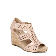 LifeStride Heidi Perforated Wedge Sandal