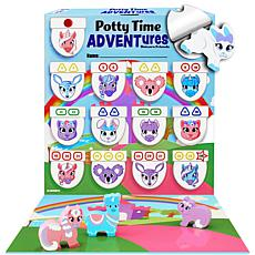 Lil Advents Potty Time ADVENTures Potty Training Game -Unicorn Friends