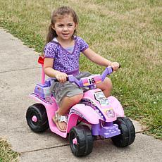 Li'l' Rider™ Precess 4 Wheel Mini ATV - Pink/Purple