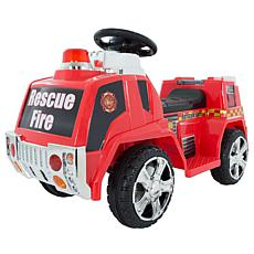 Lil' Rider Ride-On Toy Fire Truck