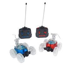 Lil' Turbo Twist 2-pack Remote Control Light-Up Stunt Cars