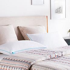 Linenspa Essentials Shredded Memory Foam Pillows – Set of 2 – King