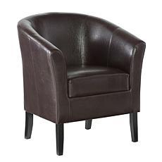 Linon Home Jackson Club Chair