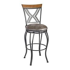 Linon Home Tucker Bar Stool - Brown