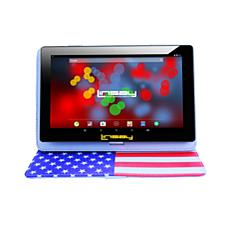 LINSAY 32GB IPS Tablet with Android 10 and Case