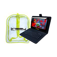 LINSAY IPS Tablet with Android 9.0 Pie and Keyboard Case