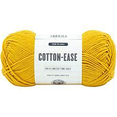 Lion Brand Cotton - Ease Yarn - Goldenrod
