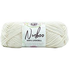 Lion Brand Nuboo Yarn - Cream