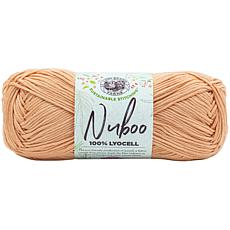 Lion Brand Nuboo Yarn - Peach