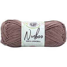 Lion Brand Nuboo Yarn - Walnut