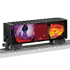 Lionel Trains Disney Villians Hi-Cube Boxcar 2-pack