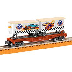 Lionel Trains Hot Wheels™ 50th Anniversary Flat Car with Piggybacks