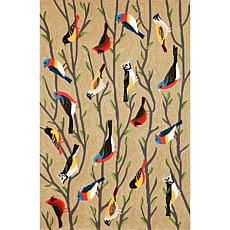 "Liora Manne Frontporch Birds Rug - Multi - 42"" x 66"""