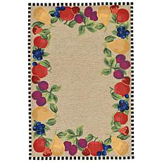 Liora Manne Frontporch Fruits Rug - 5' x 7'6""