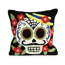 "Liora Manne Frontporch Mr. Muerto 18"" Square Pillow"