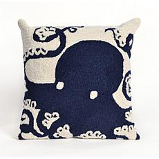 "Liora Manne Frontporch Octopus 18"" Pillow"
