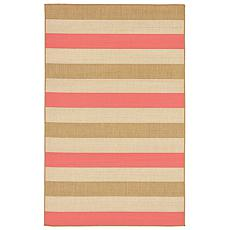 "Liora Manne Multi Stripe Rug - Sunset - 4'10"" x 7-1/2'"