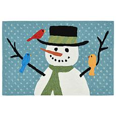 "Liora Manne Snowman And Friends Rug - 24"" x 36"""