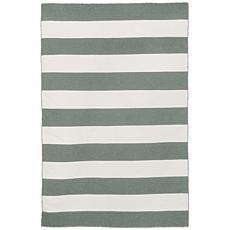 "Liora Manne Sorrento Rugby Stripe - Gray - 24"" x 36"""