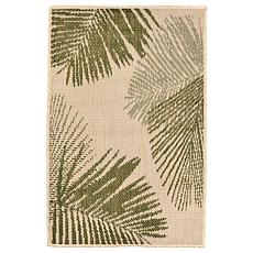 "Liora Manne Terrace Palm 23"" x 35"" Rug - Green"
