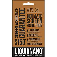 LiquidNano Ultimate Wipe-on Screen Protector w/$150 Screen Assurance