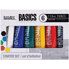 Liquitex 118ml 6-pack Basics Acrylic Paint - Assorted