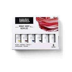 Liquitex Heavy Body Acrylic Mixing Primary Set of 6