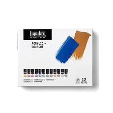 Liquitex Professional Acrylic Gouache 22ml Essentials Set of 12
