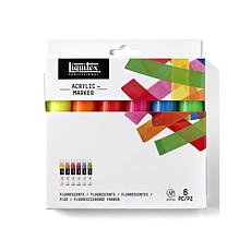 Liquitex Professional Paint Marker Fluorescent Wide Set of 6
