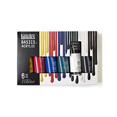 LIQUITEX Set of 6 Basics Value Series Acrylic Colors