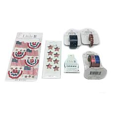 Little B Patriotic Tape and Embellishments Kit