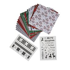 Little Darlings Country Christmas Stamps with Paper Pad