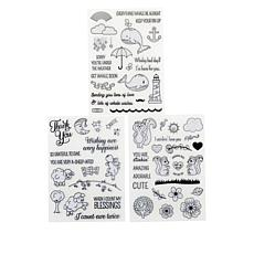 Little Darlings Critters All Occasions Rubber Stamps