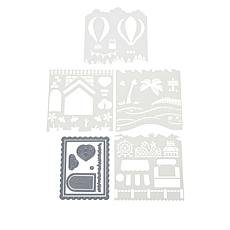 Little Darlings Everyday Fun Create-A-Scene Stencils and Dies