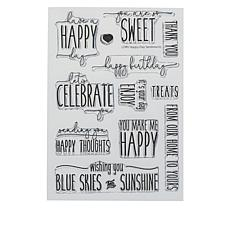 Little Darlings Happy Day Sentiments Stamp Set