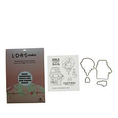 Little Darlings Mini Winnie Boutique Stamp and Die Kit