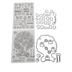 Little Darlings Pocket Pals Character Scene Stamp and Die Kit
